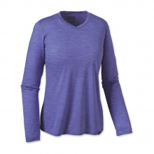 Women's L/S Merino Daily V-Neck T-Shirt by Patagonia