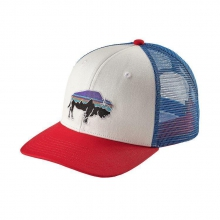 Fitz Roy Bison Trucker Hat by Patagonia in West Linn Or