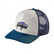 Fitz Roy Bison Trucker Hat by Patagonia in Meridian Id