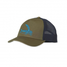 Women's Deconstructed Flying Fish Layback Trucker Hat by Patagonia