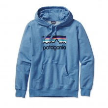 Men's Line Logo MW P/O Hooded Sweatshirt by Patagonia