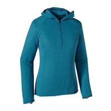 Women's Cap TW Zip Neck Hoody