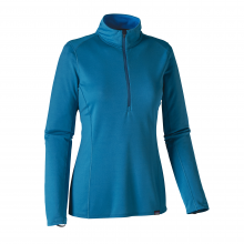Women's Cap MW Zip Neck by Patagonia in Corvallis Or