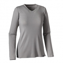 Women's L/S Cap Daily T-Shirt by Patagonia in Troy Oh