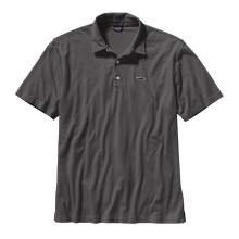 Men's Polo - Trout Fitz Roy by Patagonia in Sandy Ut