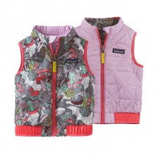 Baby Reversible Puff-Ball Vest by Patagonia