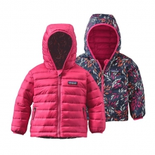 Baby Reversible Down Sweater Hoody by Patagonia