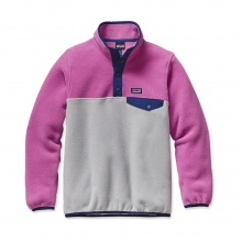 Girls' LW Synch Snap-T P/O by Patagonia in Costa Mesa Ca