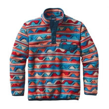 Boys' LW Synch Snap-T P/O by Patagonia in Meridian Id