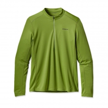 Men's Long-Sleeved Fore Runner Zip Neck by Patagonia