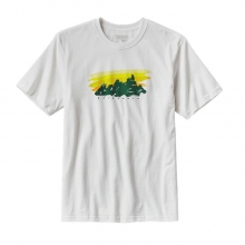 Men's Painted Fitz Roy Cotton T-Shirt by Patagonia in Succasunna Nj