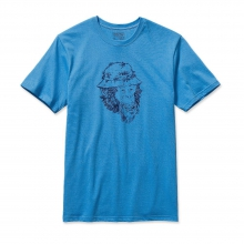 Men's Fish Monkey Cotton T-Shirt by Patagonia