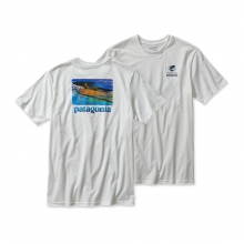 Men's World Trout Slurp Cotton T-Shirt by Patagonia