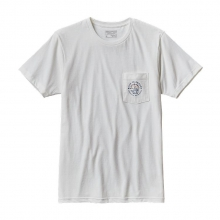Men's Geodetic Anvil Cotton/Poly Pocket  T-Shirt by Patagonia