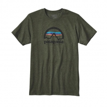 Men's Arched Logo Cotton/Poly T-Shirt by Patagonia