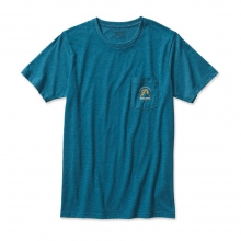 Men's Moonset Cotton/Poly Pocket T-Shirt by Patagonia