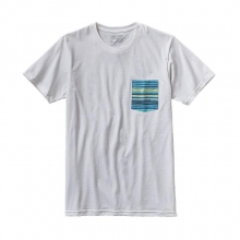 Men's Horizon Line-Up Cotton/Poly Pocket T-Shirt