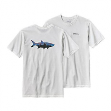Men's Fitz Roy Tarpon Cotton T-Shirt by Patagonia