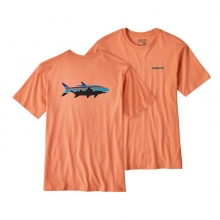 Men's Fitz Roy Tarpon Cotton T-Shirt by Patagonia in Auburn Al