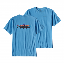 Men's Fitz Roy Trout Cotton T-Shirt by Patagonia in Bluffton Sc