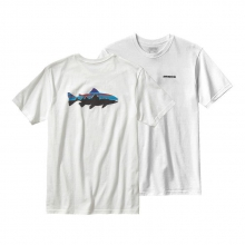 Men's Fitz Roy Trout Cotton T-Shirt by Patagonia in Omaha Ne