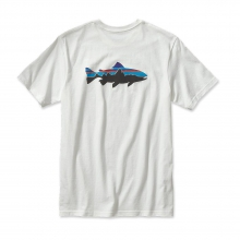 Men's Fitz Roy Trout Cotton T-Shirt by Patagonia in Keene Nh