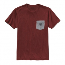 Men's  Badge Rec. Poly Pocket Responsibili-Tee