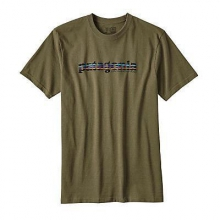 Men's '73 Text Logo Cotton/Poly Responsibili-Tee by Patagonia