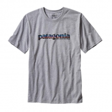 Men's '73 Text Logo Cotton/Poly Responsibili-Tee by Patagonia in Anderson Sc