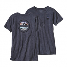 Women's Rivet Logo Cotton/Poly Crew T-Shirt by Patagonia
