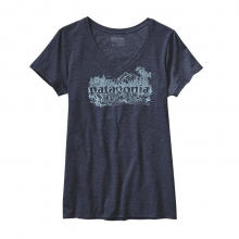 Women's  Meltwater Cotton/Poly V-Neck T-Shirt by Patagonia