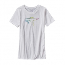 Women's Live Simply Dove Cotton/Poly Crew T-Shirt by Patagonia
