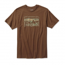 Men's Spruced '73 Logo Cotton T-Shirt by Patagonia in Wakefield Ri