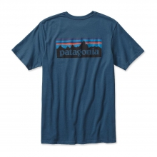 Men's P-6 Logo Cotton T-Shirt by Patagonia in Iowa City Ia