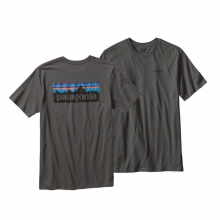Men's P-6 Logo Cotton T-Shirt by Patagonia in Ames Ia