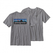 Men's P-6 Logo Cotton T-Shirt by Patagonia in Coeur Dalene Id