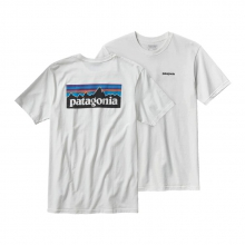 Men's P-6 Logo Cotton T-Shirt by Patagonia in Keene Nh