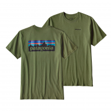 Men's P-6 Logo Cotton T-Shirt by Patagonia in Colorado Springs Co