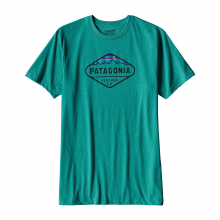 Men's Fitz Roy Crest Cotton/Poly T-Shirt by Patagonia in Collierville Tn