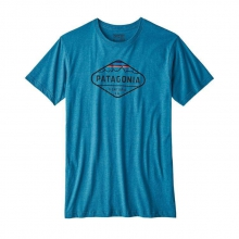 Men's Fitz Roy Crest Cotton/Poly T-Shirt by Patagonia in Oxford Ms