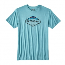 Men's Fitz Roy Crest Cotton/Poly T-Shirt by Patagonia in Evanston Il
