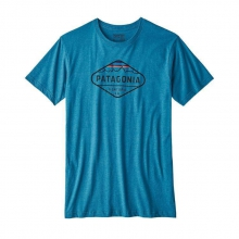 Men's Fitz Roy Crest Cotton/Poly T-Shirt by Patagonia in Oro Valley Az