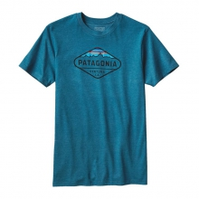 Men's Fitz Roy Crest Cotton/Poly T-Shirt by Patagonia