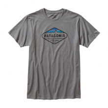 Men's Fitz Roy Crest Cotton/Poly T-Shirt by Patagonia in Florence Al