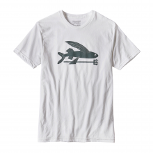 Men's Flying Fish Cotton/Poly T-Shirt by Patagonia