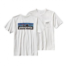 Men's P-6 Logo Cotton Pocket T-Shirt by Patagonia in Holland Mi