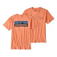 Men's P-6 Logo Cotton Pocket T-Shirt by Patagonia