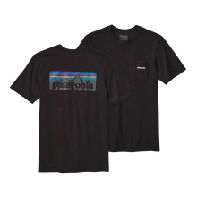 Men's P-6 Logo Cotton Pocket T-Shirt by Patagonia in Sylva Nc