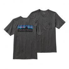 Men's P-6 Logo Cotton Pocket T-Shirt by Patagonia in Logan Ut