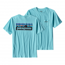 Men's P-6 Logo Cotton Pocket T-Shirt by Patagonia in Iowa City Ia